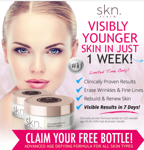 skn Renew for visibly younger skin